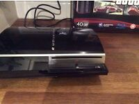 PS3 40 gb Faulty