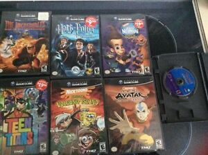 gamecube games. playstation games.  need gone tonight