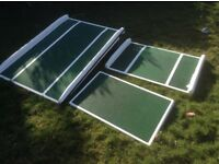 Set of 3 disability ramps.