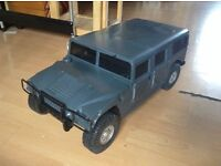 RC kyosho hummer H1 1/8 scale rtr vgc not used or ran