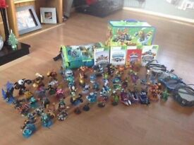 Xbox 360 26 games 4 sky landers games and portals with 60 different sky landers and Disney infinity