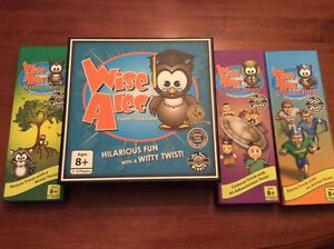 Wise Alec Trivia Game with expansions by Gridlly Games