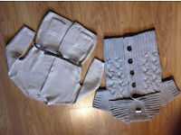 Lovely Girls Woolen Cardigans -- Next & River island - 5-6 years - £10 for BOTH - VERY GOOD CONDITON