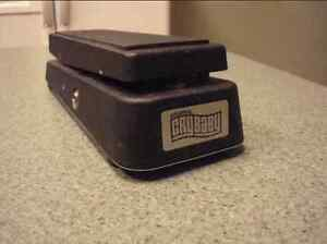 Jim dunlop cry baby wah pedale
