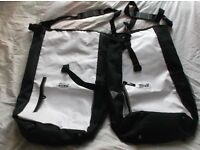 A Pair Of Bike, Bicycle, Pannier Bags, dry bags, waterproof, Never Used