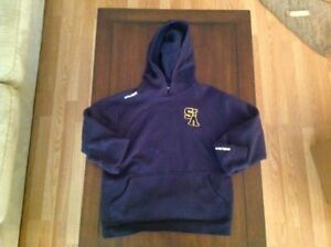 Youth XL - STA Bauer Pullover Hoodie - logo embroidered