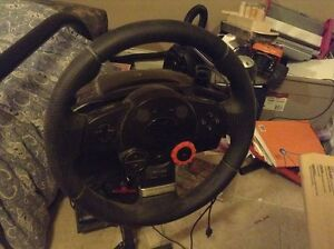 Logitech Driving Force GT Wheel and Stand