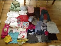 *Large bundle of GIRLS' CLOTHES 3-4 years in EXC Winter/Autumn/Spring & Summer over 42 pieces!