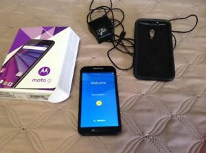 Unlocked Moto G cell phone 3rd generation