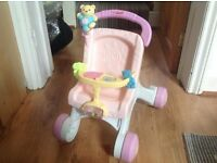 fisher price first pushchair