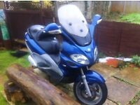 Piaggio 125cc X9, Running, Spares or Repair, Very low mileage,