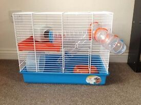 Ferplast hamster cage from pets at home. used for around 6 months in vgc.