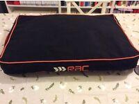 2-Door Sloping Car Dog Crate + RAC dog bed