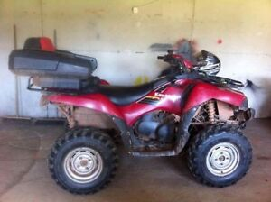 Parting Out 2006 Kawasaki Brute Force 750