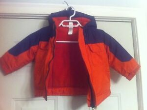 Toddlers Winter Jackets Excellent Condition, Outgrown.