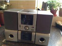 JMB micro home audio system cd/radio/ cassette