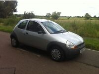 ford ka 1.3 low mileage - 47000 miles