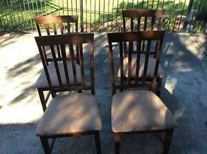 4 x dining room chairs Mona Vale Pittwater Area Preview