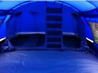 10man tent/porch/internal carpet/ground sheet and 1 electrical point