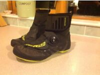 Specialized defroster road boots sz40
