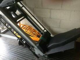 Body Solid Leg Press/Hack Squat Machine with 2x50kg plates