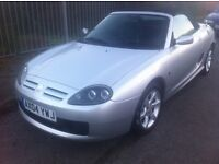 MG TF 1.8 Petrol Manual Convertible 2 Door Silver 2004 - Leather low milage