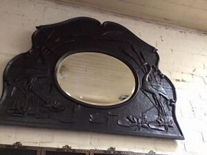 Beautiful Australian Hard wood carved mirror Walcha Walcha Area Preview