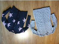 Lovely NEXT Woolen Girls Cardigans - 7-8 Years - Like New £6 EACH - Thick Good Quality Woolen Tops