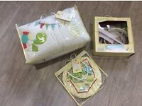 Babies R Us Hip Hip Hooray babies cot bundle set - £10 (Collection Hambleton, Selby)