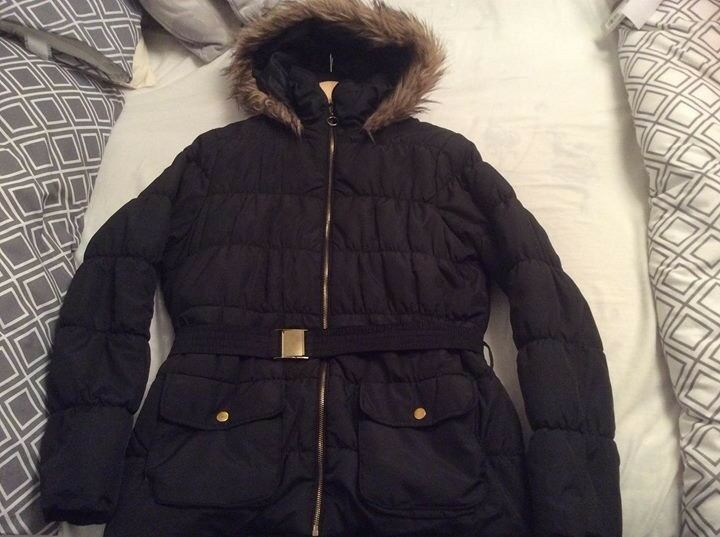 Black Short Winter Jacket From Matalan Size 16 But I M A 14 And