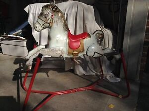 Vintage Mobo Prairie King Rocking Horse