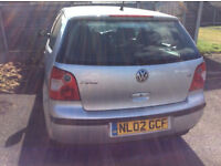 Quick sale ! Volkswagen Polo 1.2 petrol - only 48k !! New MOT - £750 or swap for seven seats