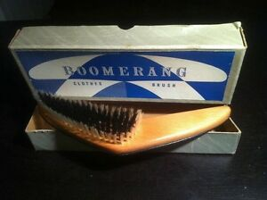 Vintage Boomerang Clothes Brush $10 Kingston Kingston Area image 1