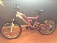 new girls Mountain bike