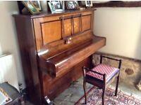C Bechstein upright piano