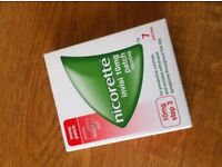 Nicorette Patches - One box - UNOPEN - Not Needed No More