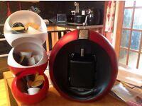 Nescafé Dolce Gusto Krups Coffe Machine + Pods