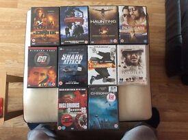 10 Movie DVD Bundle
