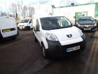 Peugeot Bipper 1.3 Hdi 75 S [Non Start/Stop] DIESEL MANUAL WHITE (2012)