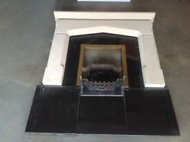 ivett and reed fire surround. collection from haddenham