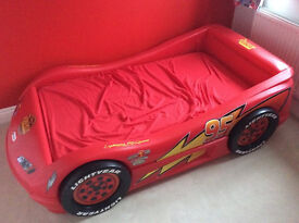 Toddler Little Tykes Lightning McQueen Car Bed