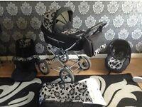 3 in 1 travel system babystyle pram