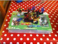 Skylanders Wii starter set with extra figures