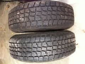 235/65R17 Gislaved Nord Frost 2 USED TIRES 75%TREAD LEFT