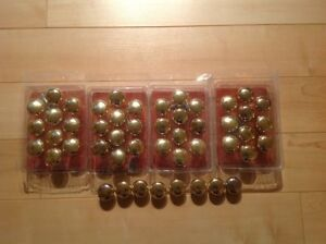 48 solid brass cabinet knobs