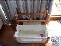 Snuz Pod 2 Bedside Crib Basinet, 3 in 1 Cot Co-sleeping