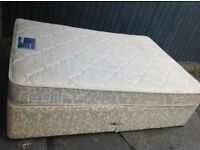 DOUBLE DIVAN BED WITH MATTRESS ** FREE DELIVERY IS AVAILABLE TONIGHT ***
