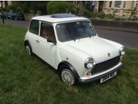 Low Mileage Classic Mini Mayfair in White
