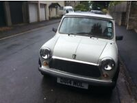 Low Mileage Classic Mini Mayfair in White