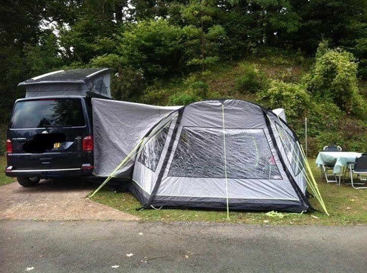 Khyam Aerotech 4XL - 4 man drive away air awning tent for ...